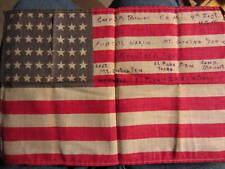 PHOTO FLAG mexican border service 1916 El Paso,Texas CAMP STEWART- PANCHO VILLA