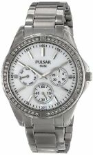 Pulsar PP6049 Women's Stainless Steel Chronograph Watch