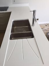 Pure White | Quartz Sample | Kitchen Worktops