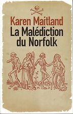 Livre la malédiction du Norfolk K. Maitland book