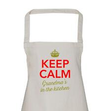 Grandma Gift Apron Funny Personalised Keepsake Cooking Present Cotton Twill