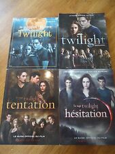 LOT 4 LIVRES ** TWILIGHT ** GUIDE OFFICIEL FILM UNIVERS TENTATION TBE