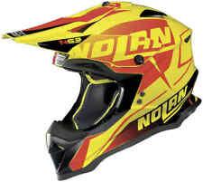 Motocross casco Helmet Nolan n53 n 53 Sidewinder LED Yellow airoh Twist yzf kxf M