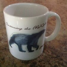 Polar Bear Continuing The Re-Cycle Coffee Mug R. McCauley Artwork J. Behr & Sons