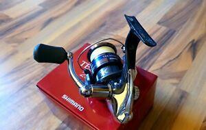 Shimano Technium 2500FD inklusive Ersatzspule mit geflochtener Schnur