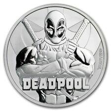 Tuvalu Marvel Deadpool Superheld 1 oz 999 Silber Silbermünze in Kapsel