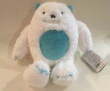 NWT Carters White Aqua Plush Yeti Monster Abominable Snowman Stuffed Baby Toy