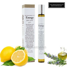 Valentine Gift Aromatherapy Co Energy Pulse Point 15ml Scent Lemon Rosemary