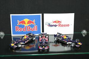 Formel 1 Sammlung 1:43 Minichamps PMA Red Bull Torro Rosso F1