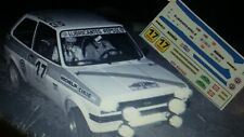 Calca/Decal Ford Fiesta 1300 #17 P. Alonso Rally Montseny-Guilleries 1978 1/43