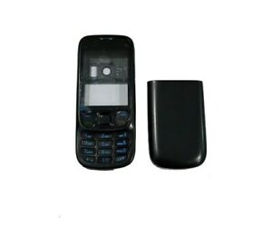 Original Nokia 6303i Cover Gehäuse Schwarz Rahmen Oberschale Komplett NEU