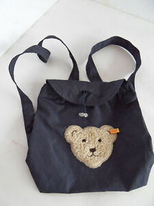 Steiff backpack bag bear  w. flag 2513