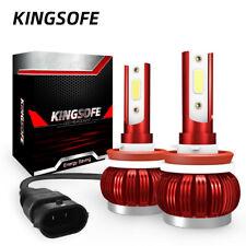 pair H11 H8 H9 110W 20000LM LED Headlight Conversion Kit Hi/Lo Beam Bulbs 6000K