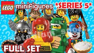 LEGO Minifigures: Series 5 [8805] *2011-RETIRED* COMPLETE FULL SET
