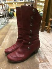 "REMONTE SPAIN  ""victorian"" buttons rockabilly gothic womens boots sz 42 ( 12?)"