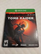 Shadow of the Tomb Raider Limited Steelbook Edition Xbox One- Complete