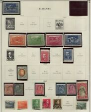 Albania 1914 - 1940 5 Pages Mh / Used, Airmails. Semi Postals Cv $196.25