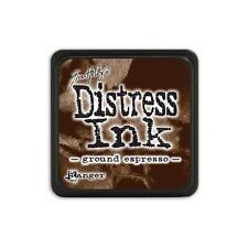 Tim Holtz Mini Distress Ink Pad GROUND ESPRESSO  Brown