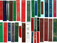 Leather Bookmark Devon County Villages Towns Places Attractions Souvenir Gift