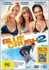 BLUE CRUSH 2 (Sasha JACKSON Sharni VINSON Elizabeth MATHIS) Surfing Film DVD NEW