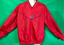 W195 NFL Buffalo Bills Sideline Pullover Top Jacket Reversible Men's Large