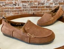 Vionic Brown Suede Corinne Indoor Outdoor Orthodic Slipper Loafer New