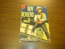 ROY ROGERS AND TRIGGER #127 - Dell Comics - MOVIE/TV WESTERN - 1958