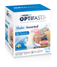 Optifast VLCD Assorted Flavour Weight Loss Shakes 10 x 53g Sachets High Protein