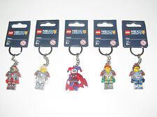 Lego ® Porte Clés Figurine Minifig Chevalier Nexo Knights Choose Keychain