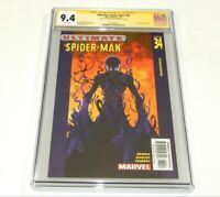Ultimate Spider-Man #34 CGC 9.4 NM SS Signed by Brian Michael Bendis