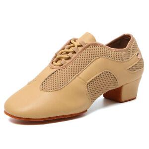 Latin Dance Shoes Women Ladies Girls Ballroom Shoes Indoor Outdoor Dancing 3cm