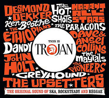 This Is Trojan Various Artists Triple CD 60 Track 3cd Set Featuring Desmond DEK