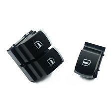 Power Window Control Switch Button For VW Eos Golf MK5 6 GTI R32 Rabbit 2PCS/Set