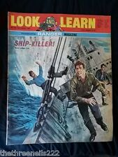 LOOK and LEARN # 396 - SHIP KILLER - AUG 16 1969