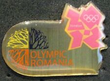 LONDON 2012 Olympic ROMANIA NOC Internal team - delegation  pin