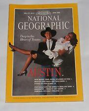NATIONAL GEOGRAPHIC MAGAZINE JUNE 1990 - PERU'S ANCIENT MOCHE/AUSTIN/DOMINICA