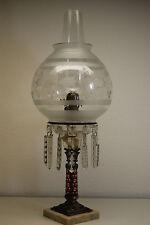 ANTIQUE ASTRAL KEROSENE OIL SINUMBRA EAPG BOSTON SANDWICH VICTORIAN SOLAR LAMP