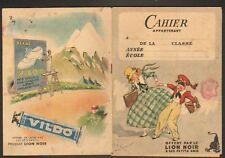 """CAHIER D'ECOLIER / COMPTABILITE / CIRAGE """"LION NOIR"""""""