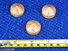 3 cône chêne pieds isolation antivibration pour équipement hi-fi 23mm extra small