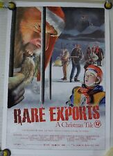 """RARE EXPORTS: A CHRISTMAS TALE 11"""" X 16"""" ORIG MINI THEATER PROMO POSTER (2010)"""