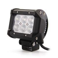 18W cree LED Work Light Floodlight Spot/Flood12V 24V 4WD Offroad Car Jeep Truck