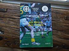 Irish Gaelic GAA Programme Dublin Meath