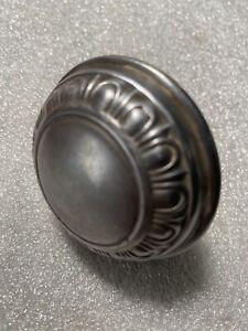 Antique Sargent. Door Knob   Steel Egg And Dart Design