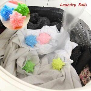 6Pcs Eco Friendly Washing Machine Tumble Dryer Clothes Laundry Softener Balls UK