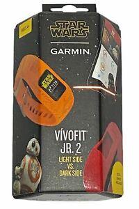 Garmin Vivofit Jr. 2 Star Wars Kids Watch Light VS Dark Side 2 Bands
