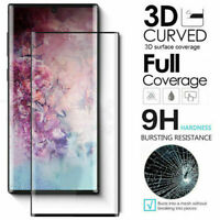 Samsung Galaxy Note 10 Plus Curved Tempered Glass Screen Protector Full Cover