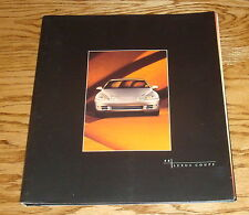 Original 1996 Lexus Coupe Spiral Bound Deluxe Sales Brochure 96