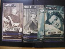 16 Magazines de Cinema MON FILM entre 1949 n 127 a 1956 n 508