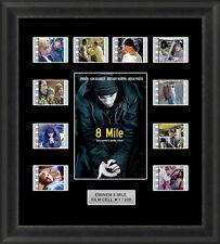 8 Mile Eminem Framed 35mm Film Cell Memorabilia Filmcell Movie Cell Presentation