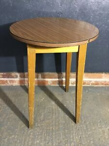 Vintage Formica Top Table Round Table